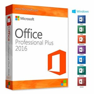 Microsoft Office Professionnel Plus 2016